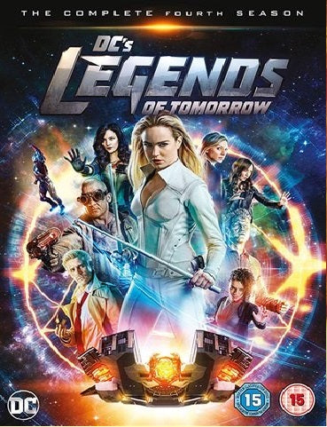DVD Boxset - DC's Legends Of Tomorrow The Complete Fourth Season (15) Preowned