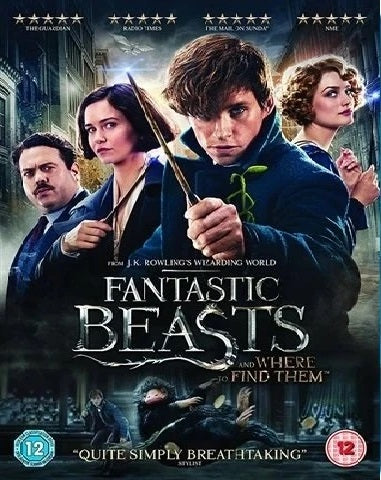 Blu-Ray - Fantastic Beasts & Where To Find Them (12) Preowned