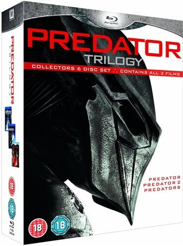 Blu-Ray - Predator Trilogy (18) Preowned
