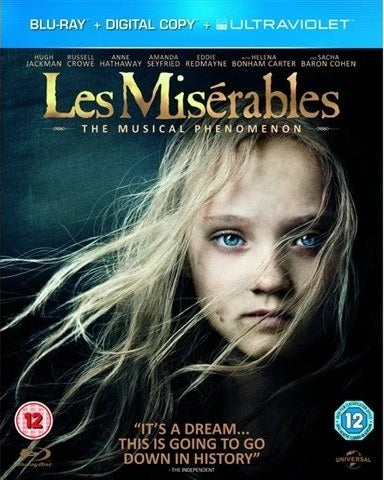 Blu-Ray - Les Miserables (12) Preowned