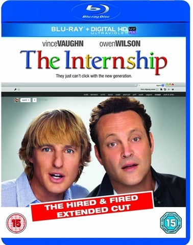 Blu-Ray - The Internship (15) Preowned