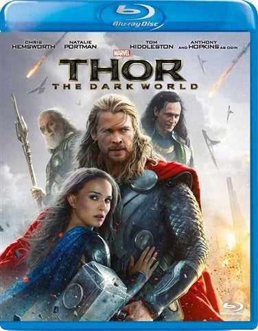 Blu-Ray - Thor The Dark World (12) Preowned