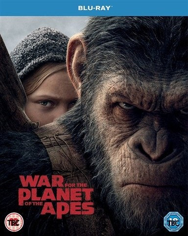 Blu-Ray - War For The Planet Of The Apes (13) Preowned