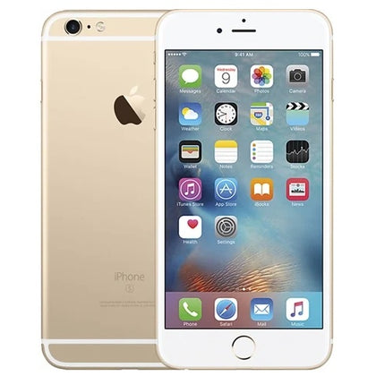 Apple iPhone 6s Plus Gold 32gb Unlocked Grade C Scratches to Screen Preowned
