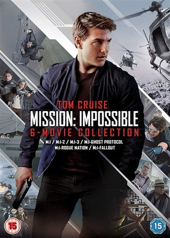 DVD Boxset - Mission: Impossible 6-Movie Collection (15) Preowned