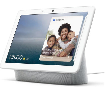 Google Nest Hub Max Chalk Preowned Grade A