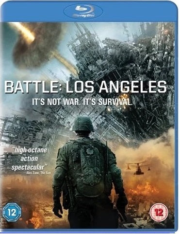 Blu-Ray - Battle Los Angeles (12) Preowned
