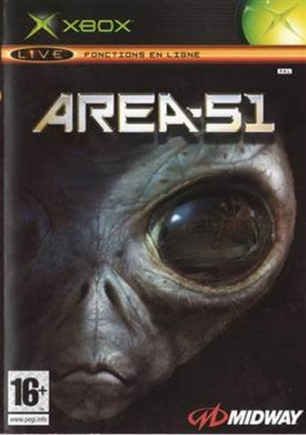 Xbox - Area 51 (16+) Preowned