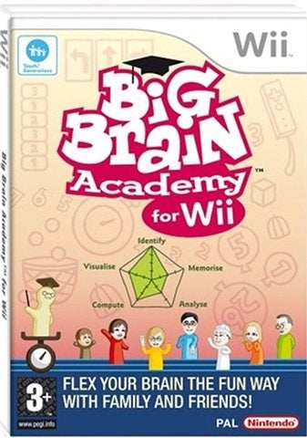 Wii - Big Brain Academy (3+) Preowned