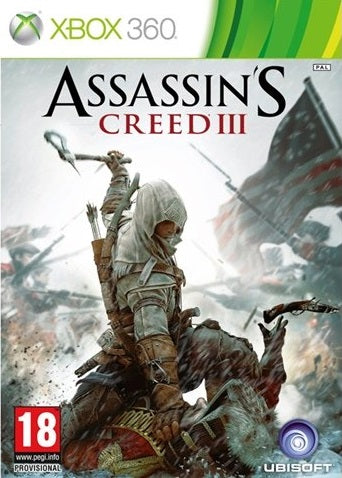 Xbox 360 - Assassin's Creed 3 (18) Preowned