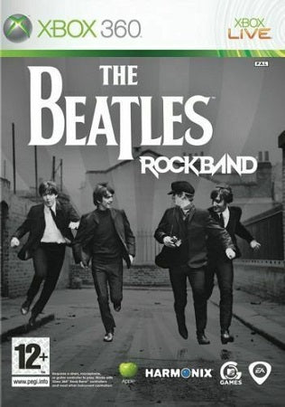 Xbox 360 The Beatles Rockband (12+) Preowned