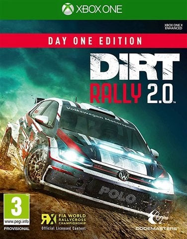 Xbox One - Dirt Rally 2.0 (3) Preowned