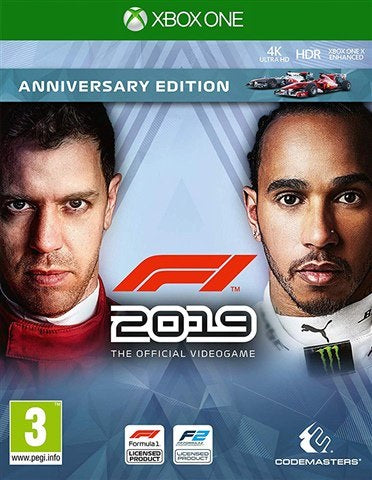 Xbox One F1 2019 (3) Preowned