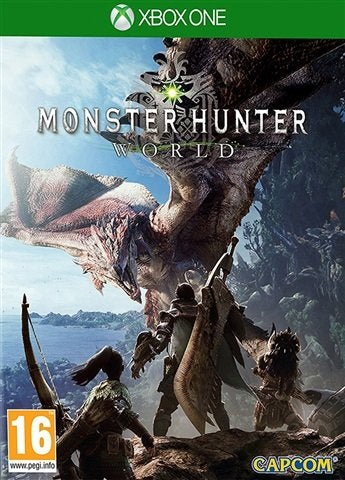 Xbox One Monster Hunter World (16) Preowned