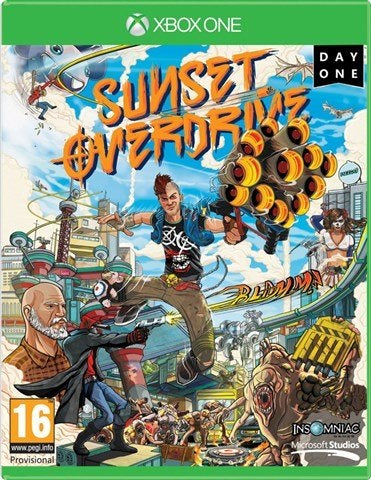 Xbox One Sunset Overdrive (16) Preowned
