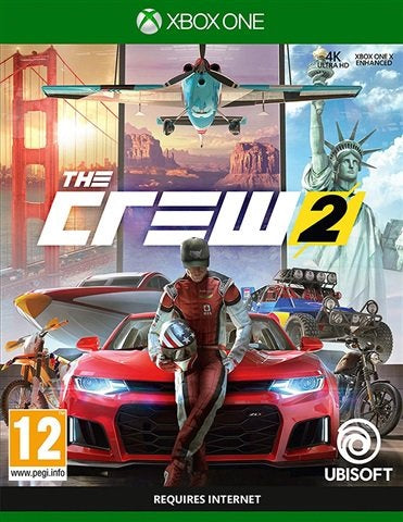 Xbox One - The Crew 2 (12) Preowned