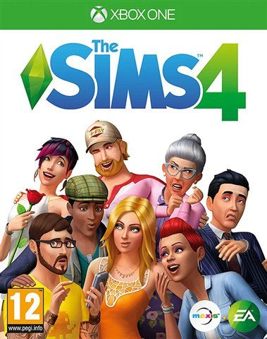 Xbox One - The Sims 4 (12) Used