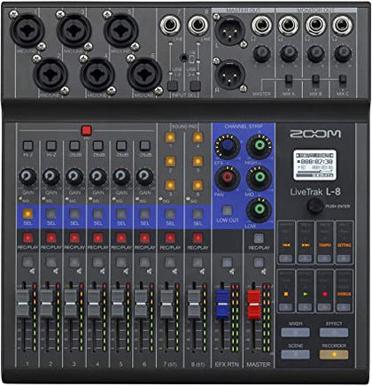 Zoom Live Trak L-8 Preowned