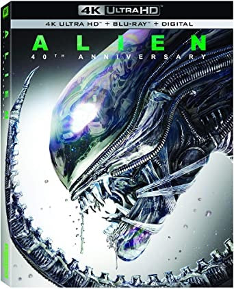 4K Blu-Ray - Alien 40th Anniversary (18) Used