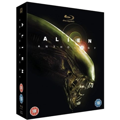 Blu-Ray Boxset - Alien Anthology (18) Used