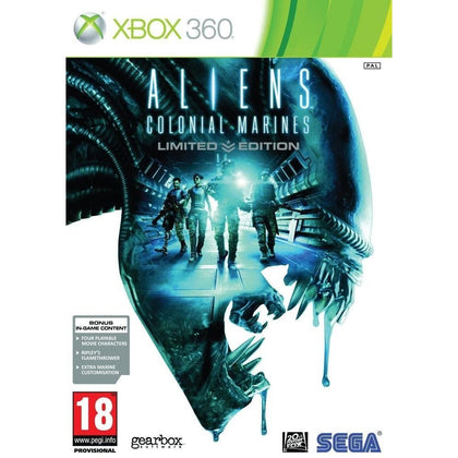 Xbox 360 - Aliens Colonial Marines (18) Preowned