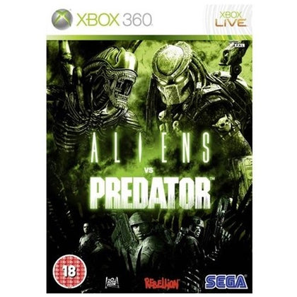 Xbox 360 - Aliens Vs Predator (18) Preowned