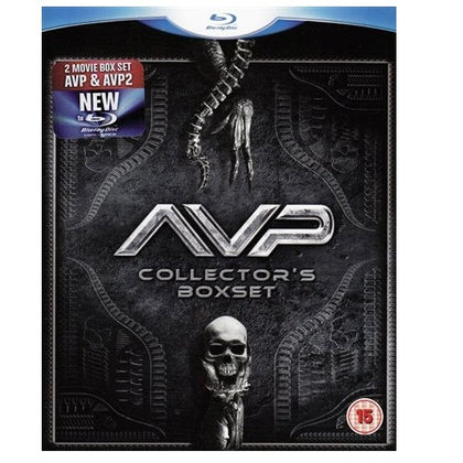 Blu-Ray Boxset - Alien Vs Predator 1 & 2 (15) Preowned