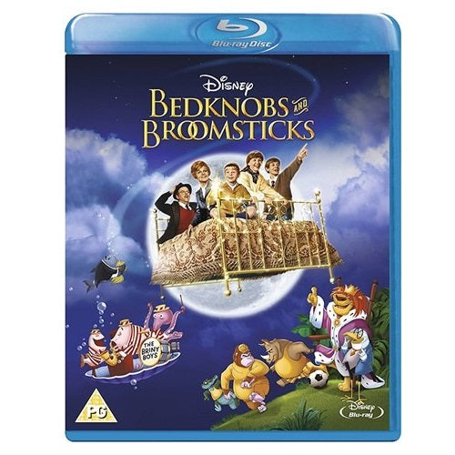 Blu-Ray - Bedknobs And Broomsticks (PG) Preowned