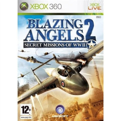 Xbox 360 - Blazing Angels 2 Secret Missions Of WWII (12+) Preowned