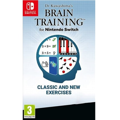 Switch - Dr Kawashima's Brain Training For Nintendo Switch (7) Preowned