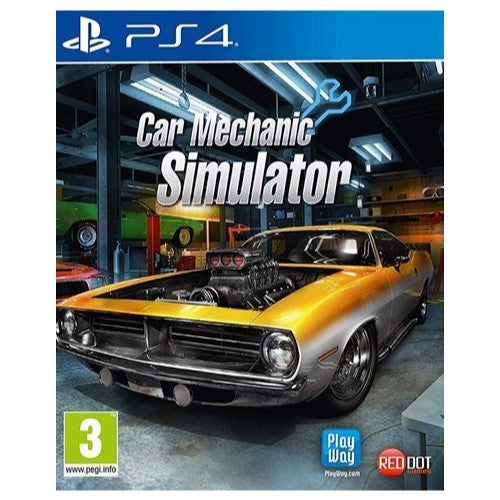PS4 - Car Mechanic Simulator (3) Preowned