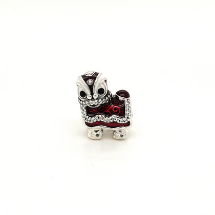 925 Silver Pandora Red Lion Charm Approx 5.5g Preowned