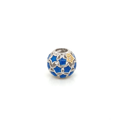 925 Silver Pandora Ball of Stars Charm Approx 2g Preowned