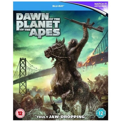 Blu-Ray - Dawn Of The Planet Of The Apes (12) Preowned