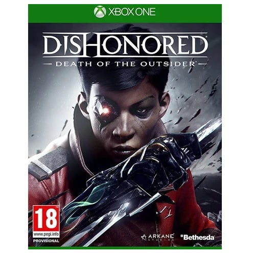 Xbox One - Dishonored Death Of The Outsider (18) Preowned
