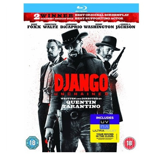 Blu-Ray - Django Unchained (18) Preowned