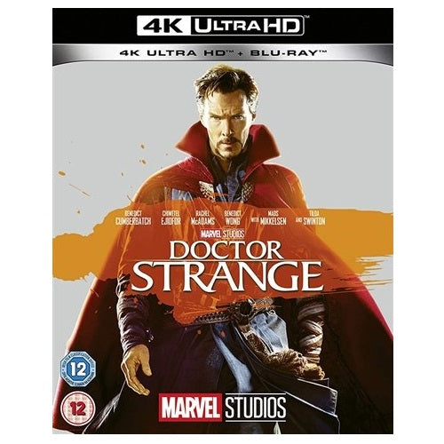 4K Blu-Ray - Doctor Strange (12) Preowned