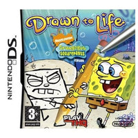 DS - Drawn To Life Spongebob Squarepants (3+) Preowned