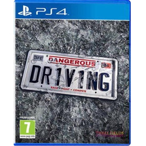 PS4 - Dangerous Driving (7) Preowned