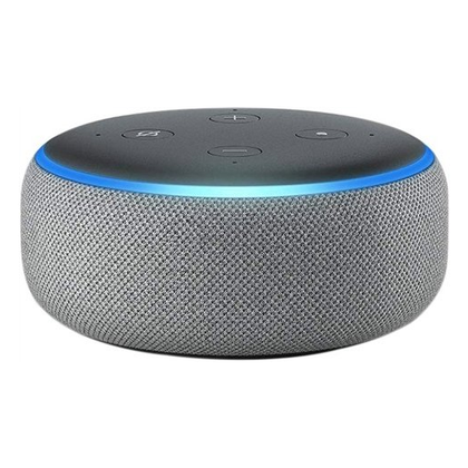 Amazon Echo Dot 3rd Generation Heather Grey Preowned Grade B