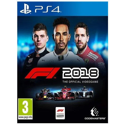 PS4 - F1 2018 The Official Videogame (3) Preowned