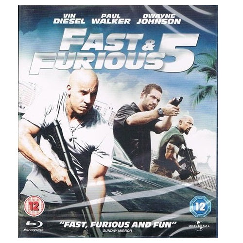 Blu-Ray - Fast & Furious 5 (12) Preowned