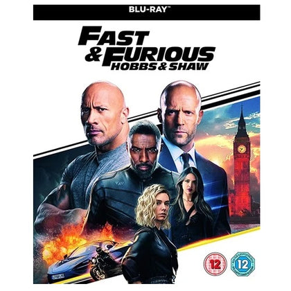 Blu-Ray - Fast And Furious Hobbs & Shaw (12) Preowned