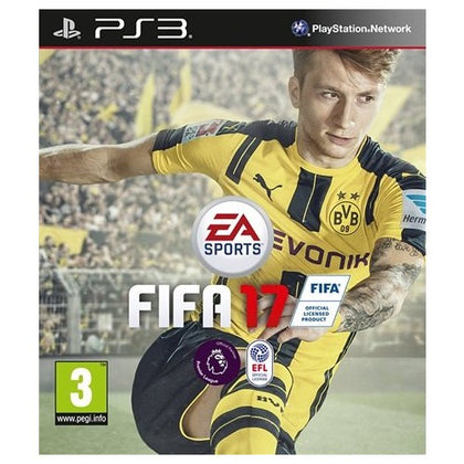 PS3 - Fifa 17 (3) Preowned