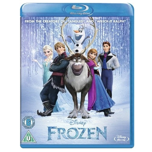 Blu-Ray - Frozen (U) Preowned