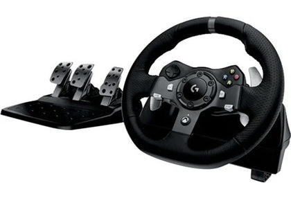 Logitech G920 Racing Wheel, Pedals with Shifter & Stand  Preowned Collection Only