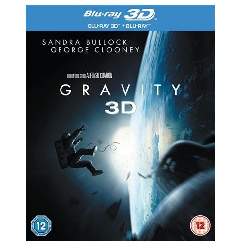 Blu-Ray - Gravity 3D (12) Preowned
