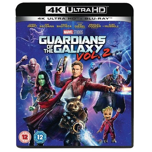 4K - Guardians Of The Galaxy Vol 2 (12) Preowned
