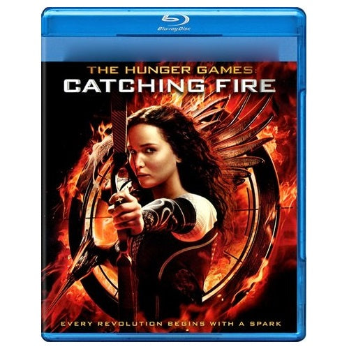 Blu-Ray - The Hunger Games Catching Fire (12) Preowned