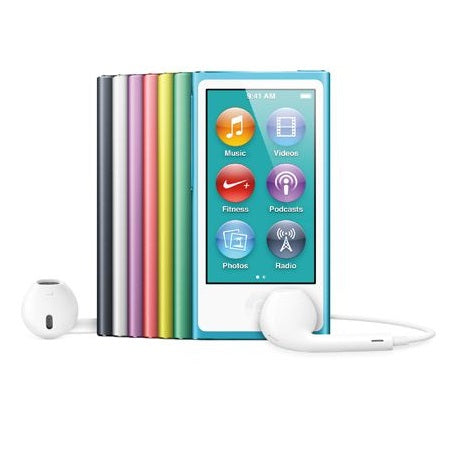 Apple iPod Nano 7th Generation A1446 16gb Blue Preowned